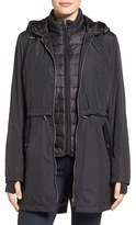 Larry Levine Women's System 3-In-1 Hooded Jacket