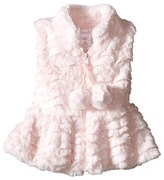 Mud Pie Fur Vest (Infant/Toddler)