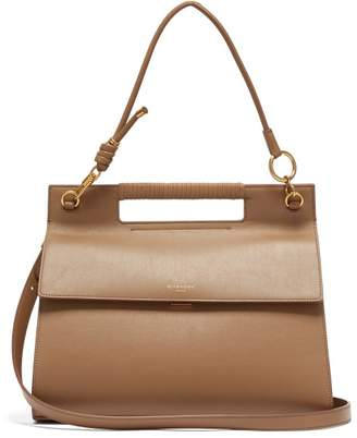 Givenchy The Whip Large Cut-out Leather Cross-body Bag - Womens - Tan