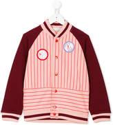 Stella McCartney striped patch cardigan