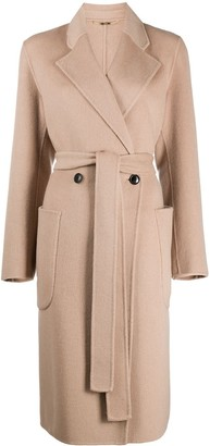 Seventy Double-Breasted Belted Coat