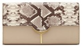 Vince Camuto Zana Leather Clutch - Brown