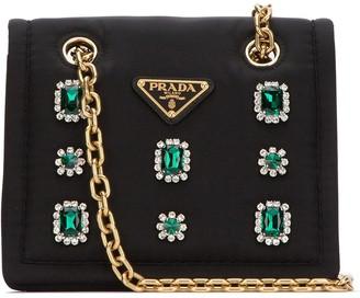 Prada Embellished Shoulder Bag