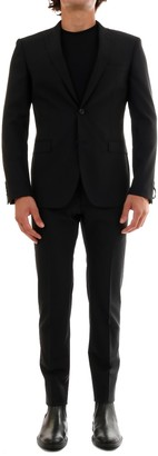 Tonello Suit In Black Wool