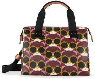 Orla Kiely Watson Messenger Bag, Morello