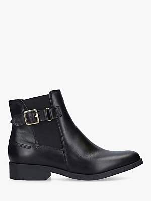 Carvela Comfort Rich Leather Ankle Boots, Black
