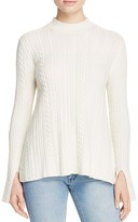Theory Friselle Cable-Knit Sweater