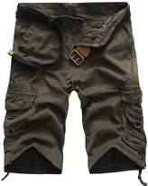 Legou Men Shorts Knee Length Pants 8 Color 4 Size M