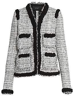 Giambattista Valli Women's Braided Tweed Jacket