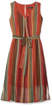 Kasper Women's Metallic Maxi Dress