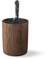Williams-Sonoma Williams Sonoma Walnut Knife Holder with Kapoosh Insert