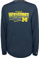 Finish Line Men's Michigan Wolverines College Earn It Long-Sleeve Shirt