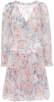 Velvet Leah floral minidress