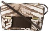 Reed Krakoff Animal Print Hair Calf Leather Crossbody Bag