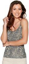 M&Co Ditsy floral cami vest top