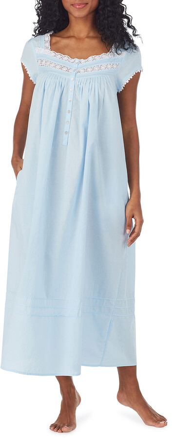 New M*S Ladies Women/'s Cotton Button Nightie Shirt Nightdress Plus Size Pyjamas