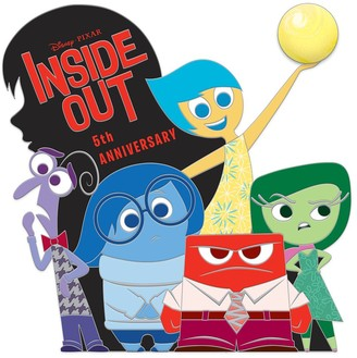 Disney Inside Out Pin 5th Anniversary Limited Edition