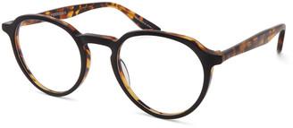 Barton Perreira Men's Archie Round Tortoiseshell Optical Frames