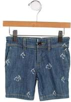 Paul Smith Boys' Patterned Denim Shorts w/ Tags