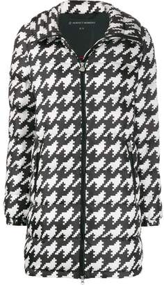 Perfect Moment Polar houndstooth puffer jacket
