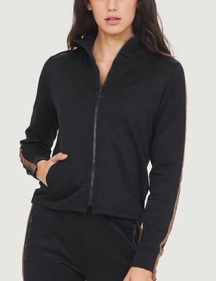 The Upside Kodi metallic-trim cotton-blend jacket