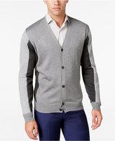 Ryan Seacrest Distinction Men's Colorblocked Cardigan, Only at Macy's