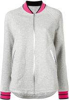 Sàpopa - contrast hem bomber jacket - women - Cotton/Polyester - XS
