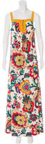 Tory Burch Floral Maxi Dress