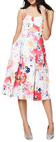 Rachel Roy Floral-Print Fit-and-Flared Dress