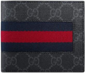 Gucci GG Supreme Web coin wallet