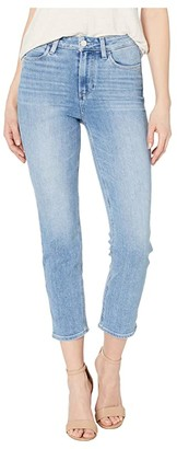 Paige Hoxton Slim Crop w/ Linear Coin Pocket Jeans in Lo-Fi Distressed (Lo-Fi Distressed) Women's Jeans