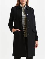 John Lewis Single Breasted Long Coat