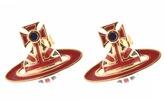 Vivienne Westwood Jack Stud Earrings Gold
