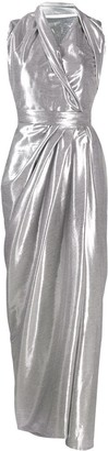 Rick Owens Asymmetric Draped Evening Dress