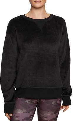 Betsey Johnson Faux Fur Boyfriend Sweatshirt