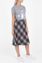 Paul & Joe Sister Check Wool Skirt