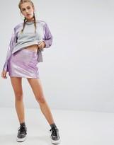 Jaded London Mermaid Sequin Mini Skirt Co-Ord