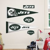 Fathead NFL New York Jets Pennant Wall Graphic