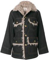 Marc Jacobs oversized denim pocket jacket