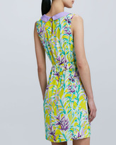 Kate Spade Neal Sleeveless Printed Dress
