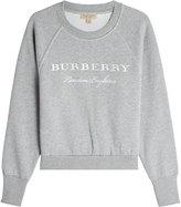 Burberry Sweat en coton avec broderie
