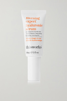 This Works Morning Expert Hyaluronic Serum, 30ml - Colorless