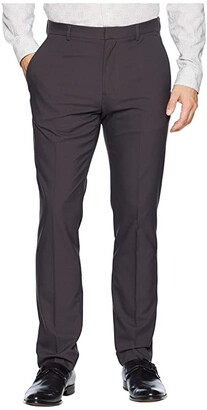 Perry Ellis Portfolio Very Slim Fit Solid Tech Pants
