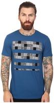 Ben Sherman Short Sleeve Paisley Check T-Shirt