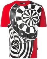 Love Moschino dartboard print T-shirt - men - Cotton - S