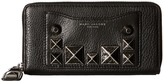 Marc Jacobs Recruit Chipped Studs Standard Continental Wallet