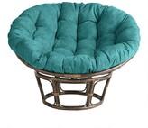 World Market Porcelain Micro Suede Papasan Chair Cushion