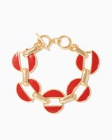Charming charlie Linked Toggle Bracelet