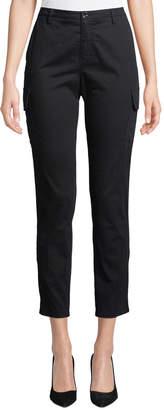ATM Anthony Thomas Melillo Slim Straight-Leg Ankle Cargo Pants