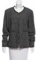 Chanel Wool & Angora-Blend Jacket